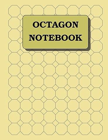 Octagon Notebook: 1 inch diameter (3/8