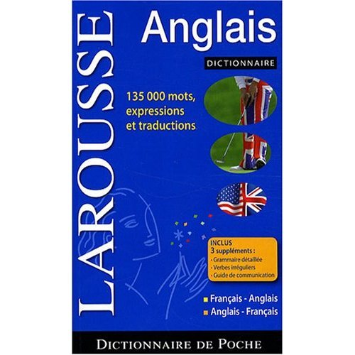 Dictionnaire Larousse de Poche Anglais - Francais / Francais - Anglaid : Larousse Pocket French to English and English to French Dictionary (French and English Edition)