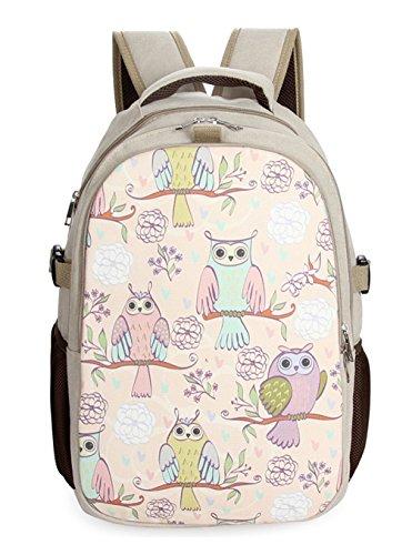 Keshi Leinwand neuer Stil Damen accessories hohe Qualität Einfache Tasche Schultertasche Freizeitrucksack Tasche Rucksäcke Mehrfarbig 6