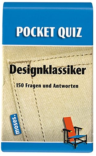 Pocket Quiz Designklassiker (Pocket Quiz / Ab 12 Jahre /Erwachsene)