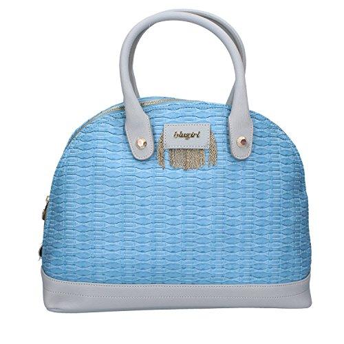 Blumarine BLUGIRL Handtaschen Damen synthetisches leder blau