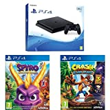 Pack PS4 500 Go + Spyro Reignited Trilogy + Crash Bandicoot N'Sane Trilogy