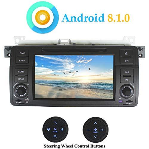 XISEDO 7 Pulgadas Android 8.1.0 Autoradio In-Dash Radio de Coche Quad Core...
