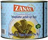 Zanae Weinblätter mit Reis, in Öl, 2 kg