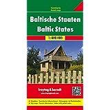 Freytag Berndt Autokarten, Baltische Staaten - Maßstab 1:400 000