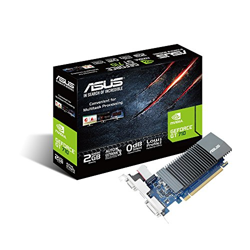 ASUS GeForce GT 710 2GB GDDR5 HDMI VGA DVI Graphics Card Graphic Cards GT710-SL-2GD5-BRK