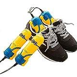 DRY&DRY TYX- Schuhtrockner Schuhwärmer elektrisch desinfizieren Hochleistungstrockner für Schuhe und Handschuhe Schuhtrockner Schuhheizung für 1 Paar Schuhe(Größe: 16x4.5 cm)