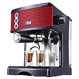Kaffeemaschine, Kleine Halbautomatische 15-Pa-Espressomaschine Für Den Haushalt, Frisch Gemahlene Dampfschaumpumpe Für Das Büro
