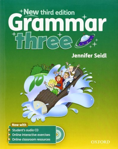 Grammar: Three: Student's Book with Audio CD by Jennifer Seidl (2011-08-04)