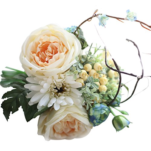 MARRYME Artificial Flowers Bouquet Wedding Home Decoration Flowers Bunch