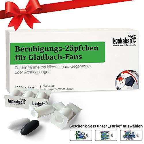 Alles für Gladbach-Fans by Ligakakao.de Geschenk männer ist jetzt BERUHIGUNGS-ZÄPFCHEN