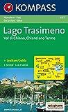 Carta escursionistica n. 662. Toscana, Umbria, Abruzzi. Lago Trasimeno, Val di Chiana, Chianciano Terme 1:50.000
