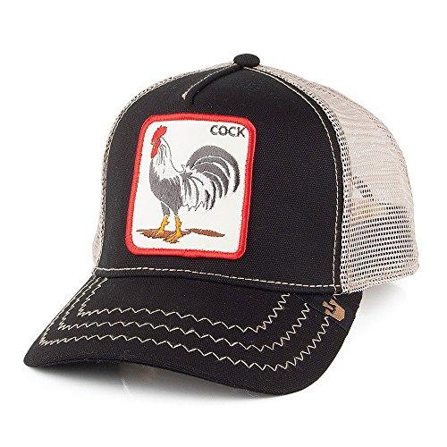 Gorra Trucker Cock Goorin Bros. - Negro - Adjustable