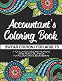 Accountant's Coloring Book | Swear Edition | For Adults | A Totally Relatable & Hilarious Curse Word Color Book For Accountants & Bookkeepers: 100 Pages | 50 Designs | Gifts For Accountants