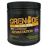 Grenade .50 Calibre Pre-workout booster, Beere Blast, 1er Pack (1 x 232 g)