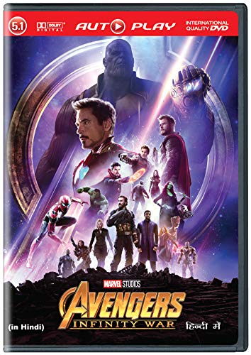 Avengers: Infinity War - Hindi DVD