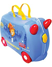 Trunki Children's Ride-On Suitcase: Paddington Bear (Blue)