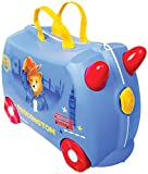 Trunki Trolley Kinderkoffer, Handgepäck für Kinder: Paddington Bär (Blau)