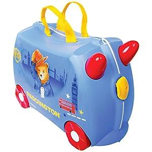 51M5ChQ7kUL. SS300 Trunki Valigia Cavalcabile Per Bambini: Il Orso Paddington (Blu)