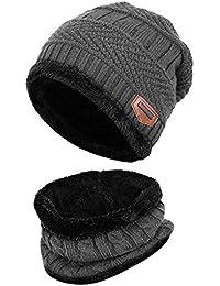 4618d23bd Amazon.co.uk: Grey - Skullies & Beanies / Hats & Caps: Clothing