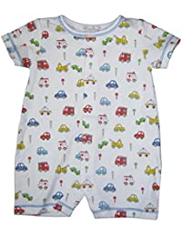 a9c956a1a18 Kissy Kissy Baby-Boys Infant Rush Hour Print Short Playsuit-Multicolored-0-