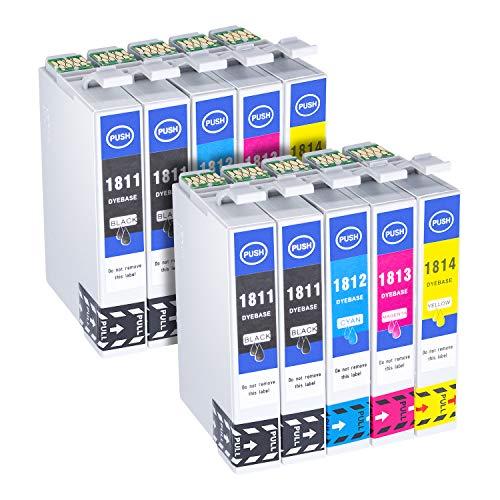 Hehua 18XL Compatible Cartuchos Tinta Epson 18 18XL