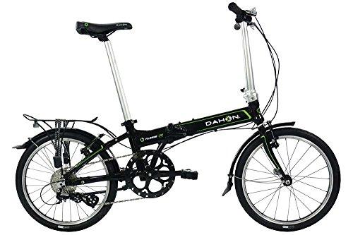 Preisvergleich Produktbild 2016DAHON Vitesse D850,8cm Rad Fahrrad Falt 8Speed schwarz