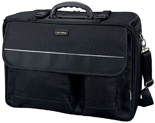 Lightpak Koffer Lightpak 46008 - The Flight Pilotenkoffer, aus Polyester, Schwarz 47 cm 11,5 liters 10100194