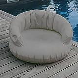 Exklusiver Schwimmsessel mit Bezug grau (B77)