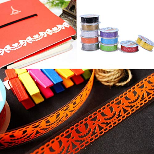 Phones Accessories - Fashion Candy Colors Lace Tape Decoration Roll  Decorative Sticky Paper Masking Self Adhesive - Accessories Motorcycles