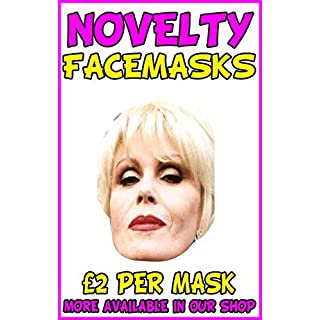 Patsy Ab Fab Novelty Celebrity Face Mask Party Mask Stag Mask