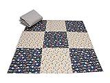 Pinidi / DIY Nähset einfache Patchwork Babydecke, Decke
