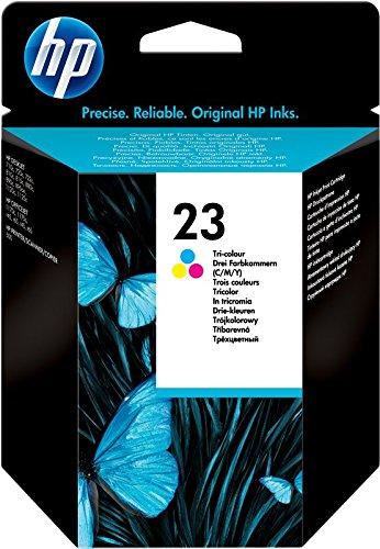 HP 23 Original Tinte dreifarbig Standardkapazität 30ml 1er-Pack Hp Druckkopf 80