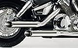 Falcon Auspuffanlagen Cromo Line Yamaha XVS 650 Drag Star/Classic