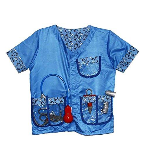 Geburtstagsgeschenke, Weihnachtsgeschenke, Veterinärkleidung für Kinder, Halloween, Kinderspiel, Kostüme, Sets, Requisiten, Requisiten, Cosplaykostüme