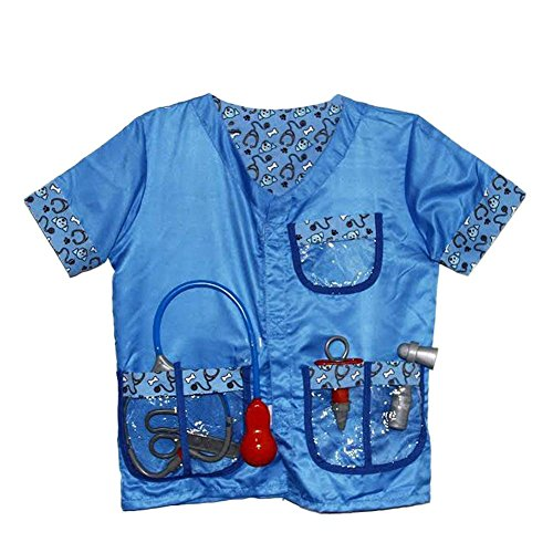 Kostüm Halloween Tierarzt - Kind tierarzt doktor Spielzeug Kinder veterinär Kleidung Halloween kinderspiel kostüme Sets bühnenrequisiten