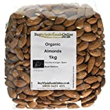 Buy Whole Foods Organic Almonds 1 Kg