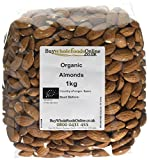 Buy Whole Foods Online Organic Almonds, 1 Kg