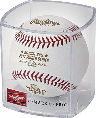 Rawlings Authentic 2017MLB World Series on-Field Baseball mit Display Fall