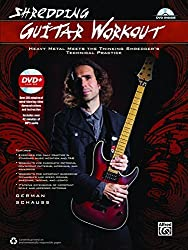 Shredding Guitar Workout: Heavy Metal Meets the Thinking Shredder's Technical Practice (Book & DVD) (Shredding Styles) by German Schauss (2015-01-01)