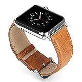 Benuo Uhrenarmband für Apple Watch 42mm aus Leder Armband für Apple Watch 42mm mit Einstellbaren...