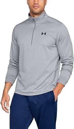 Under Armour Armour Fleece 1/2 Zip, Elasticated and Breathable Long Sleeve Fleece, Comfortable Half Zip Running Top Men