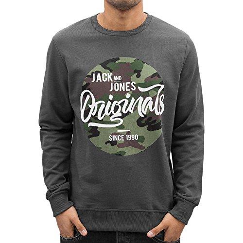Jack & Jones Homme Hauts / Pullover jjorMagic Gris