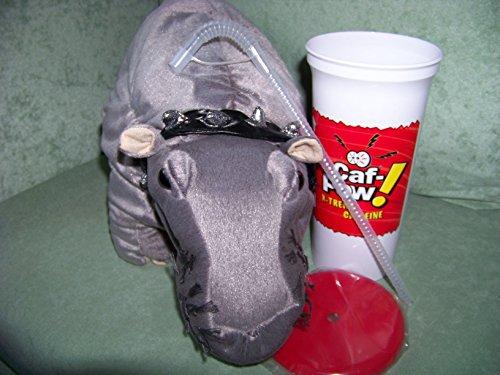 des Nilpferd mit Caf - POW Becher ! Abby farting Hippo Handpuppe , Navy CIS (Ncis-abby)