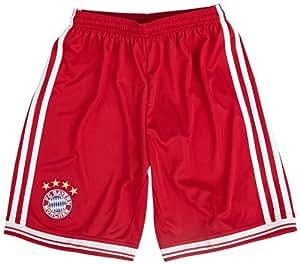 adidas Kinder Shorts FC Bayern München H Sho Y, Fcbtru/Wht, 164, G74228