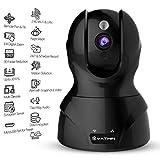 Yatwin Überwachungskamera, WLAN, IP-Kamera 720P, für den Innenbereich, kabellos