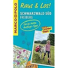 MARCO POLO Raus & Los! Schwarzwald Süd, Freiburg: Guide und große Erlebnis-Karte in praktischer Schutzhülle