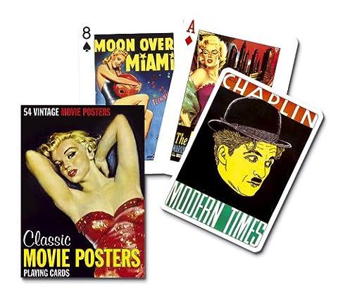 Piatnik - 1512.0 - Jeu De 54 Cartes De Collection Sur Posters De Filme