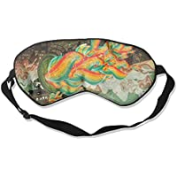 Eye Mask Eyeshade Colorful Painting Sleep Mask Blindfold Eyepatch Adjustable Head Strap preisvergleich bei billige-tabletten.eu