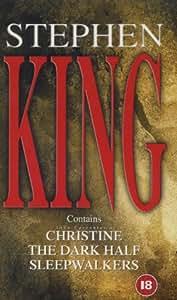Stephen King - Christine, The Dark Half, Sleepwalkers (3 Video set). [VHS]